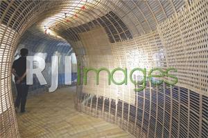 Aplikasi material bambu pada interior bangunan modern