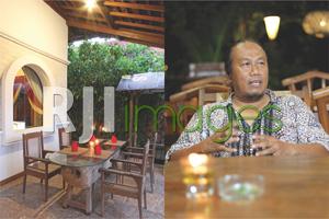 Area VVIP dan Irsyam Sigit Wibowo(owner)
