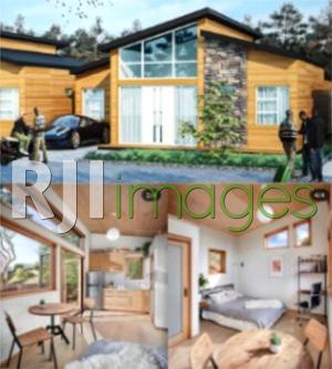 Contoh desain GWOODS CLT HOUSE