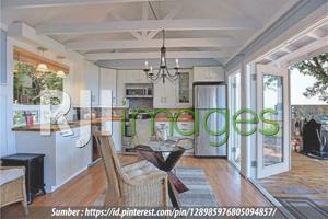 Contoh ruang makan & dapur untuk desain rumah