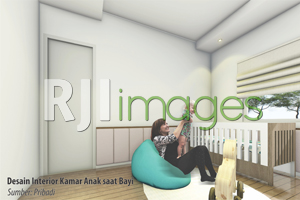 Desain Interior Kamar  Bayi