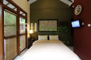 Kamar tidur Villa Rumah Boedi tipe Studio