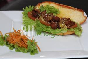 Chicken Sandwich Bulgogi