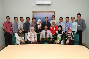 Jajaran Managemen dan Staff CFBC Bank Mandiri Syariah Yogyakarta