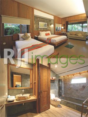 Kamar Kawung dan bathroom tipe Suite Room