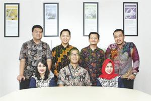 Lintang Edhie Putra (Regional Mortgage Manager Regional Jawa Tengah) beserta Tim
