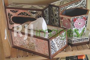 Mozaik Tissue Box