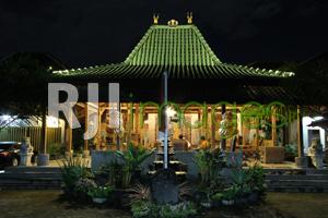 Pendopo utama sebagai simbol rumah Jawa