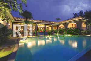 Perpaduan tema kolonial & Jawa pada bangunan The Westlake Resort