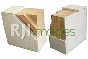 Potongan struktur dinding CLT House