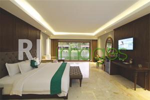 President Suite Room dengan king size bed