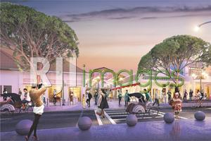 Rancangan Kawasan Pusat Belanja ex Bioskop Indra#3