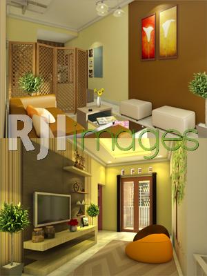Desain Ruang Tamu Tanpa Kursi  interior untuk rumah minimalis