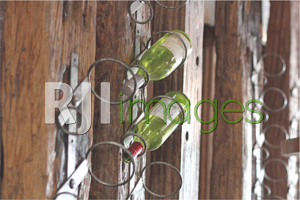 Rustic Bottle Holder