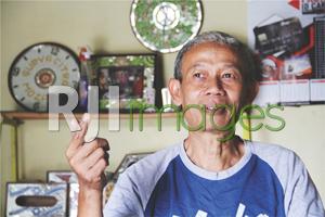 Suyanto, selaku owner Surya Citra Mozaik