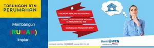 BTN Tawarkan KPR Uang Muka 1%