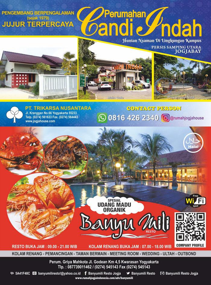 Banner Majalah Banyu Mili Resto