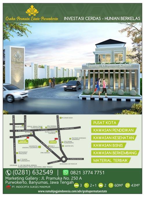 Banner Majalah Graha Permata Estate Purwokerto