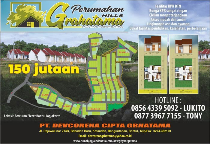 Banner Majalah Griya Argatama