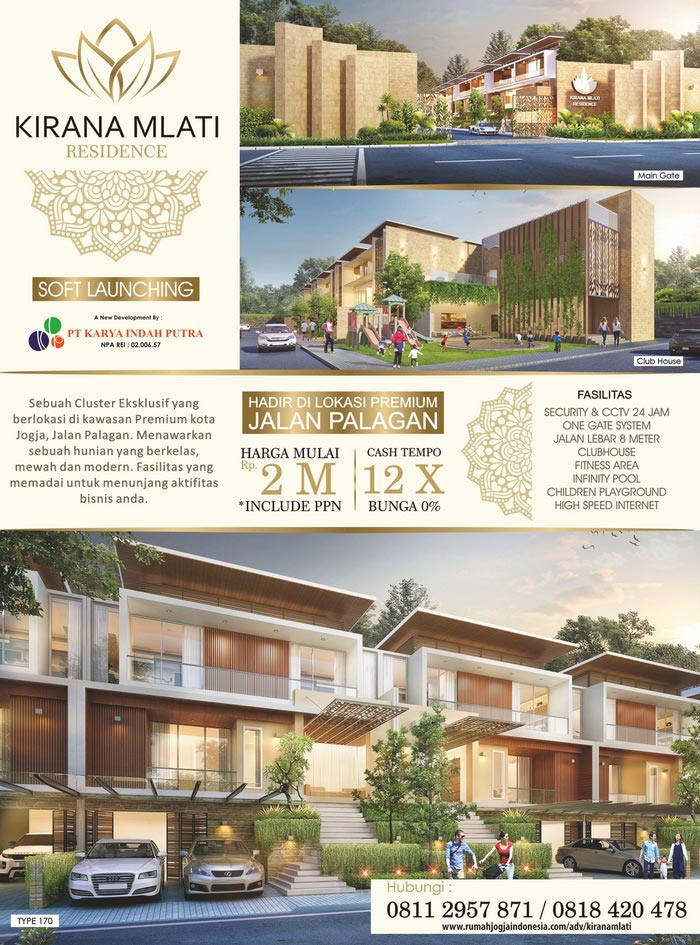 Banner Majalah Kirana Mlati Residence