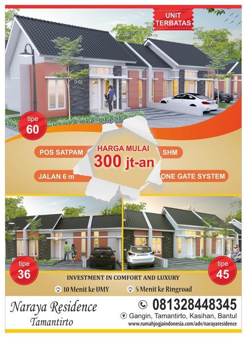 Banner Majalah Naraya Residence Tamantirto