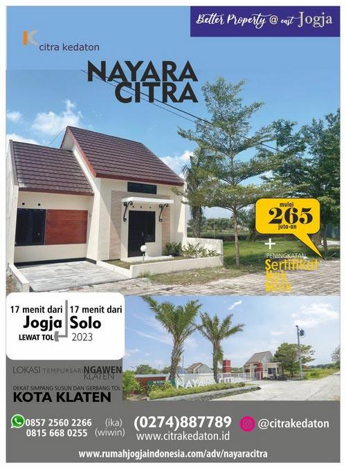 Banner Majalah Nayara Citra - Klaten