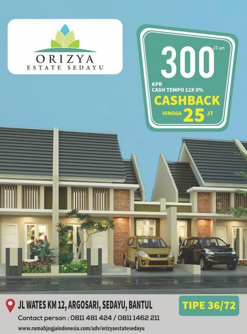 Banner Majalah Orizya Estate Sedayu