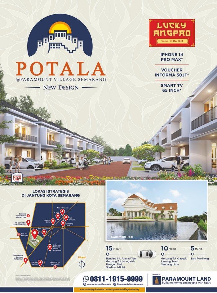 Banner Majalah Paramount Village - Semarang