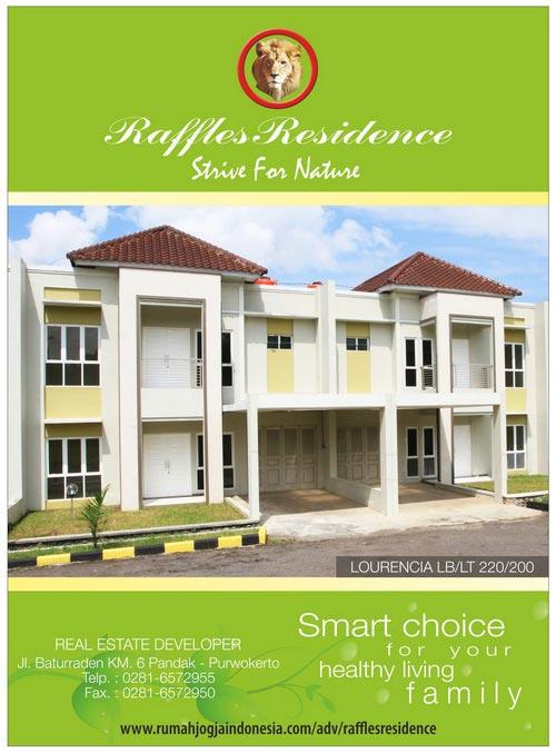 Banner Majalah Raffles Residence