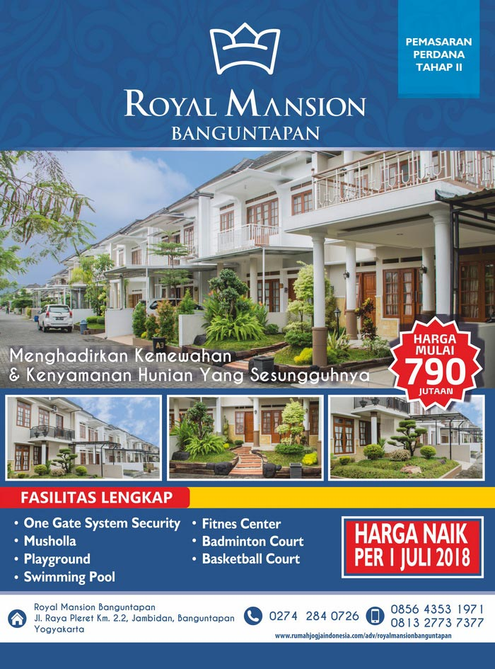 Banner Majalah Royal Mansion Banguntapan