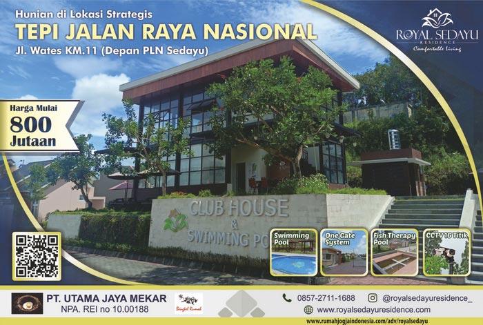 Banner Majalah Royal Sedayu Residence