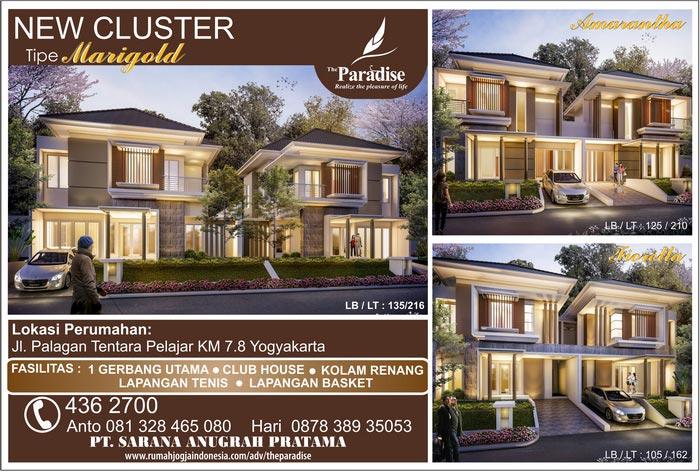 Banner Majalah The Paradise Yogyakarta