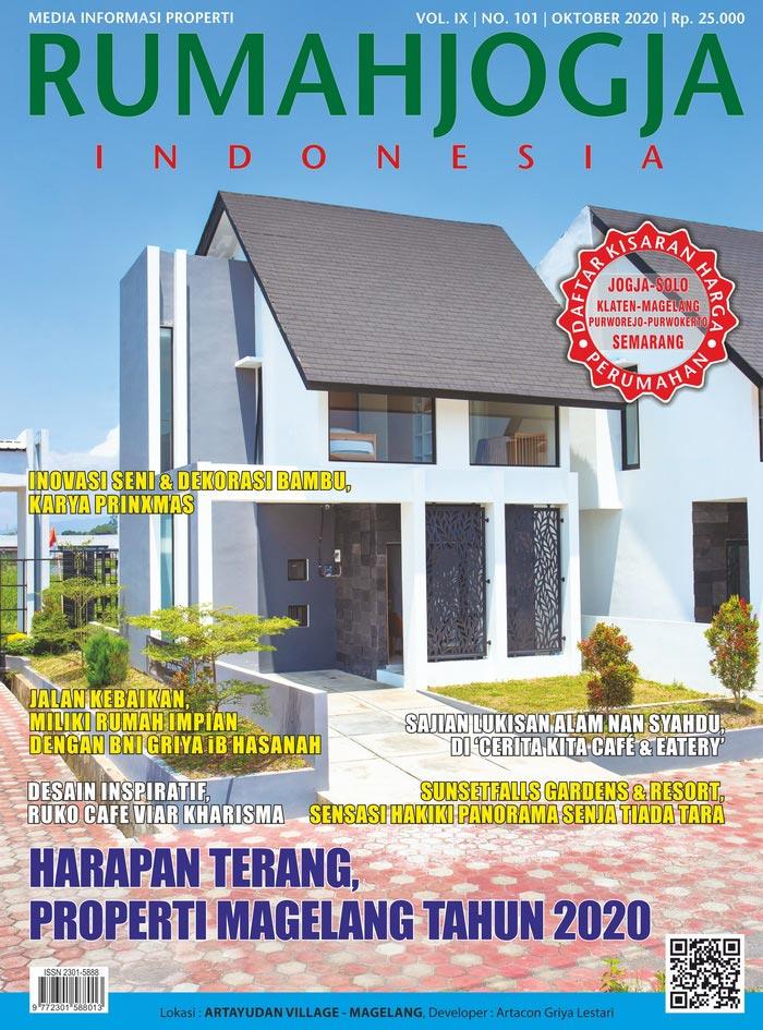 Majalah RUMAHJOGJA INDONESIA edisi 101