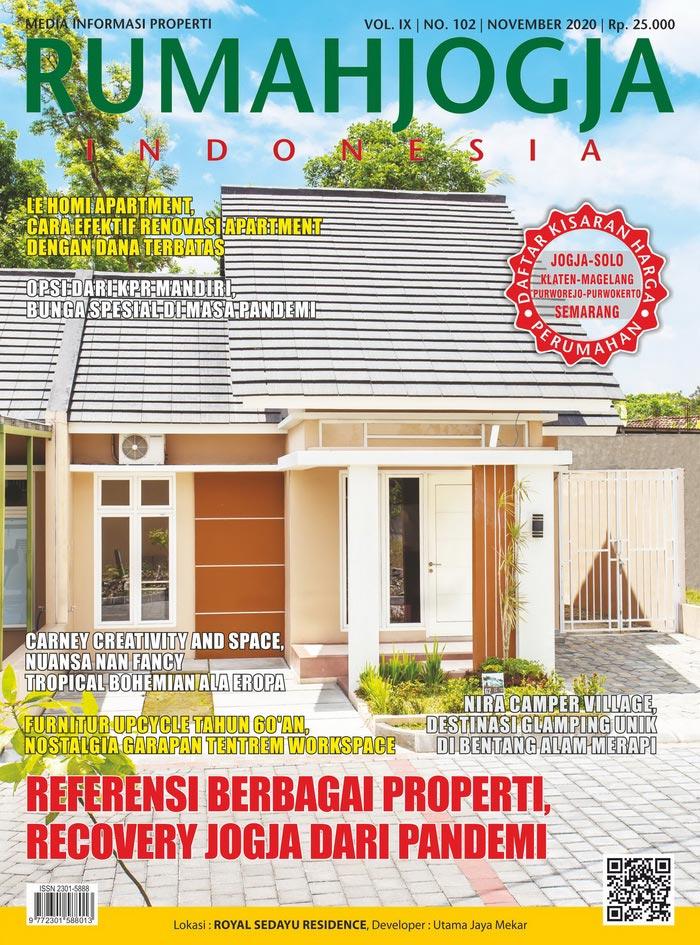 Majalah RUMAHJOGJA INDONESIA edisi 102