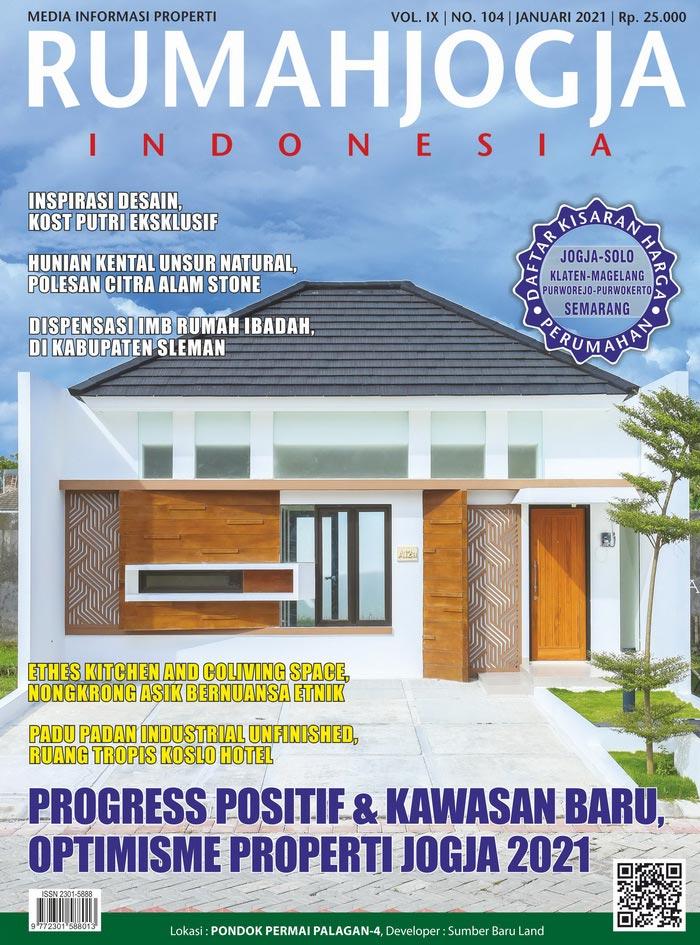 Majalah RUMAHJOGJA INDONESIA edisi 104