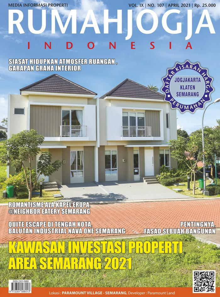 Majalah RUMAHJOGJA INDONESIA edisi 107