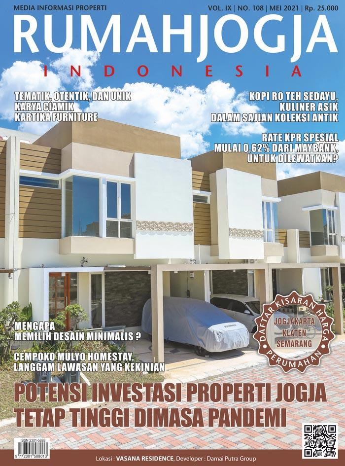 Majalah RUMAHJOGJA INDONESIA edisi 108