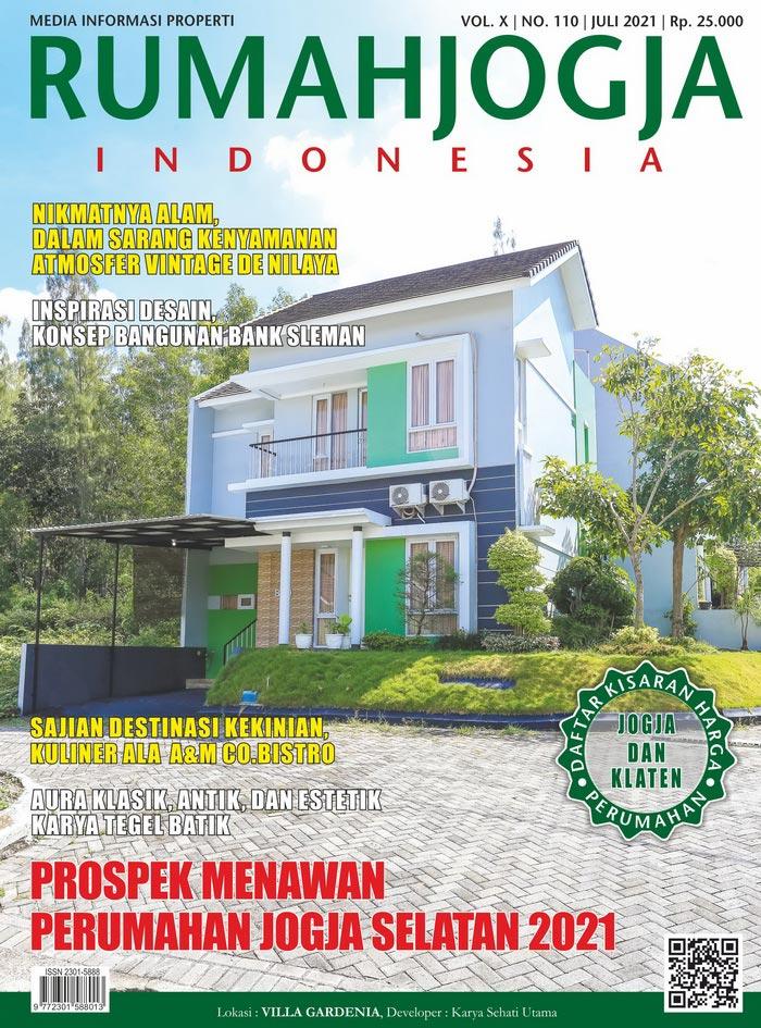 Majalah RUMAHJOGJA INDONESIA edisi 110