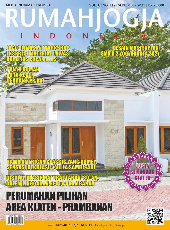 Majalah RUMAHJOGJA INDONESIA edisi 112
