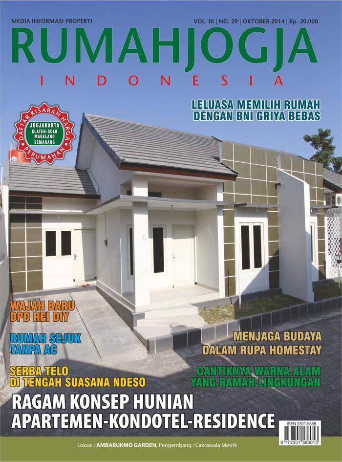 Majalah RUMAHJOGJA INDONESIA edisi 29