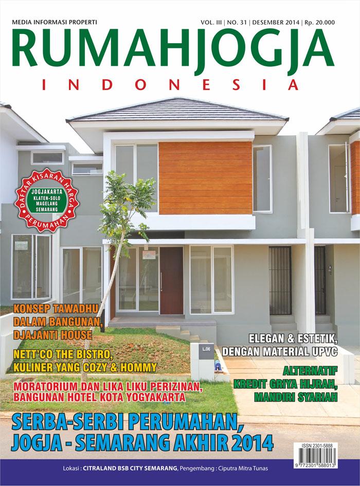 Majalah RUMAHJOGJA INDONESIA edisi 31