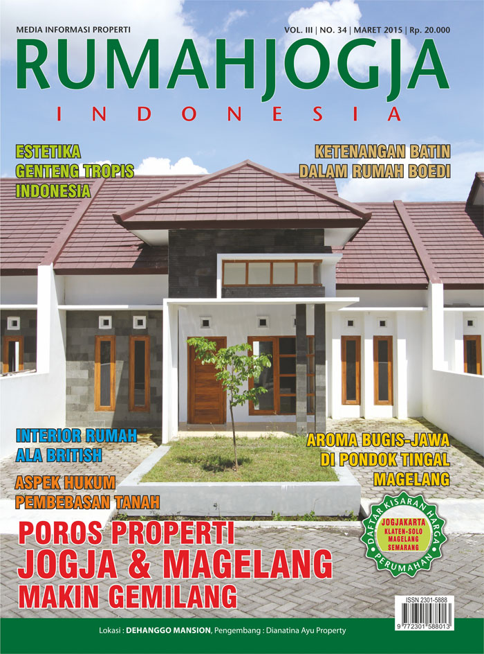 Majalah RUMAHJOGJA INDONESIA edisi 34