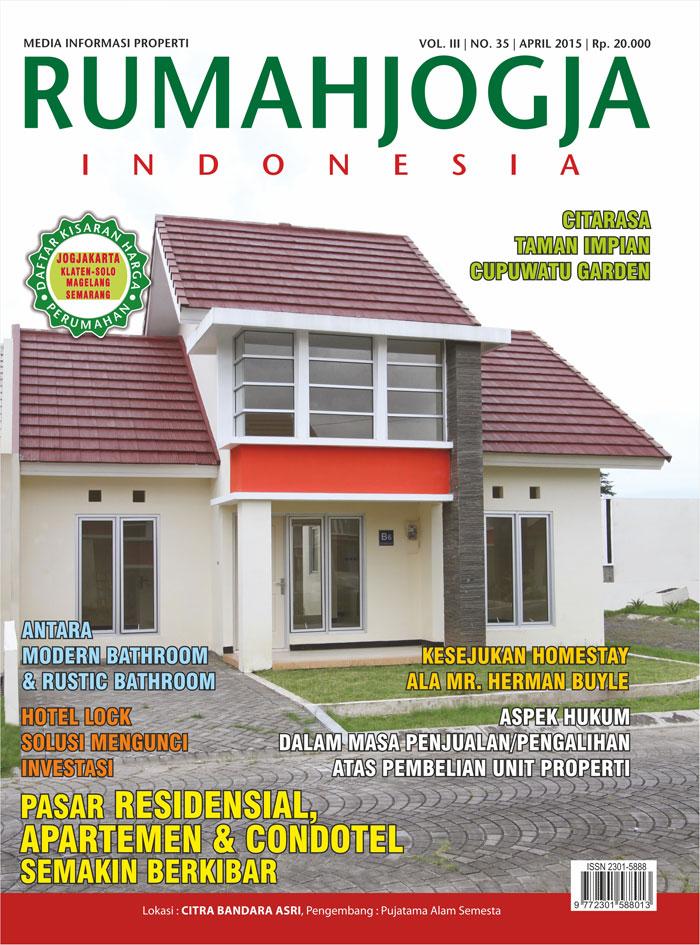 Majalah RUMAHJOGJA INDONESIA edisi 35