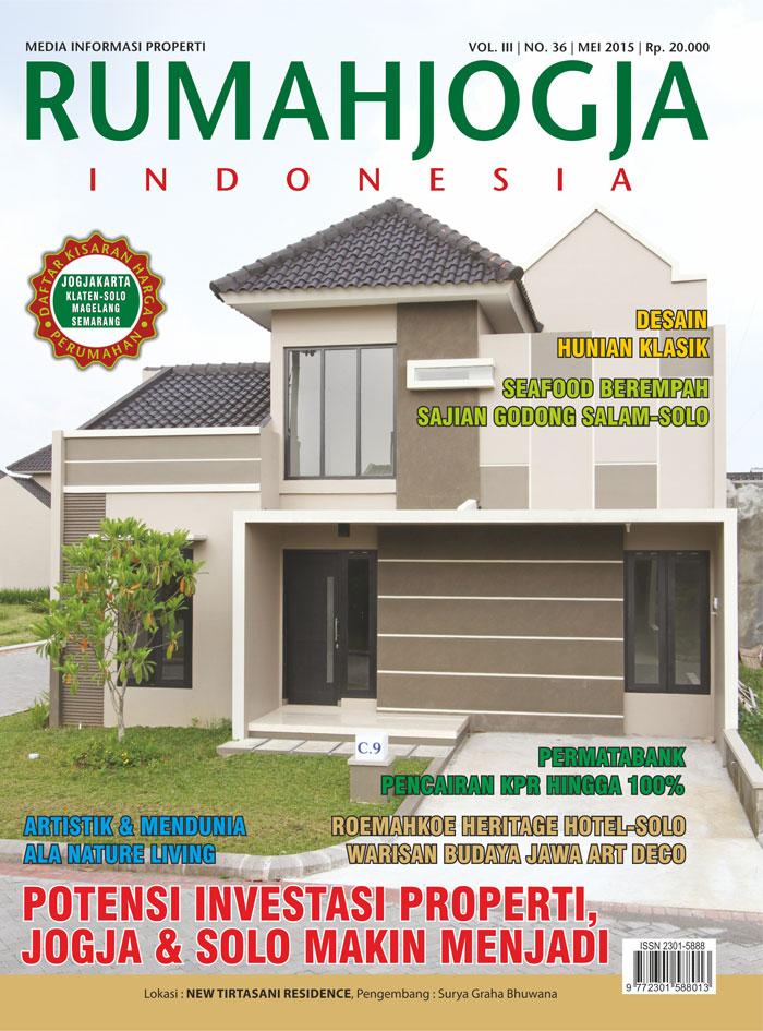 Majalah RUMAHJOGJA INDONESIA edisi 36