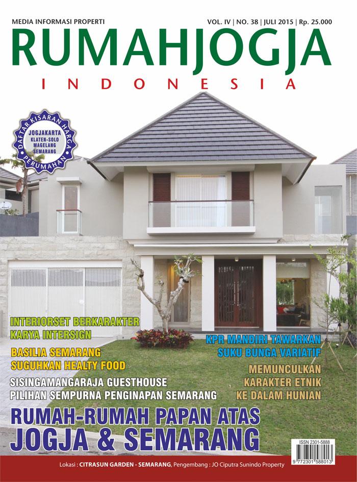 Majalah RUMAHJOGJA INDONESIA edisi 38