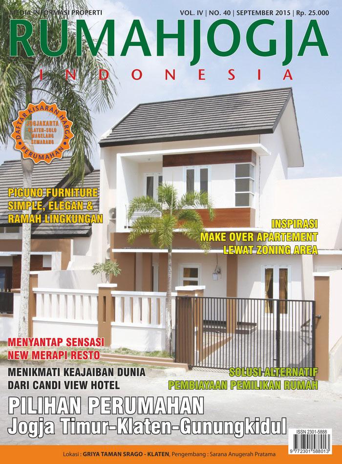 Majalah RUMAHJOGJA INDONESIA edisi 40