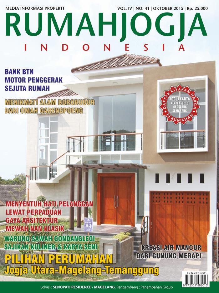 Majalah RUMAHJOGJA INDONESIA edisi 41