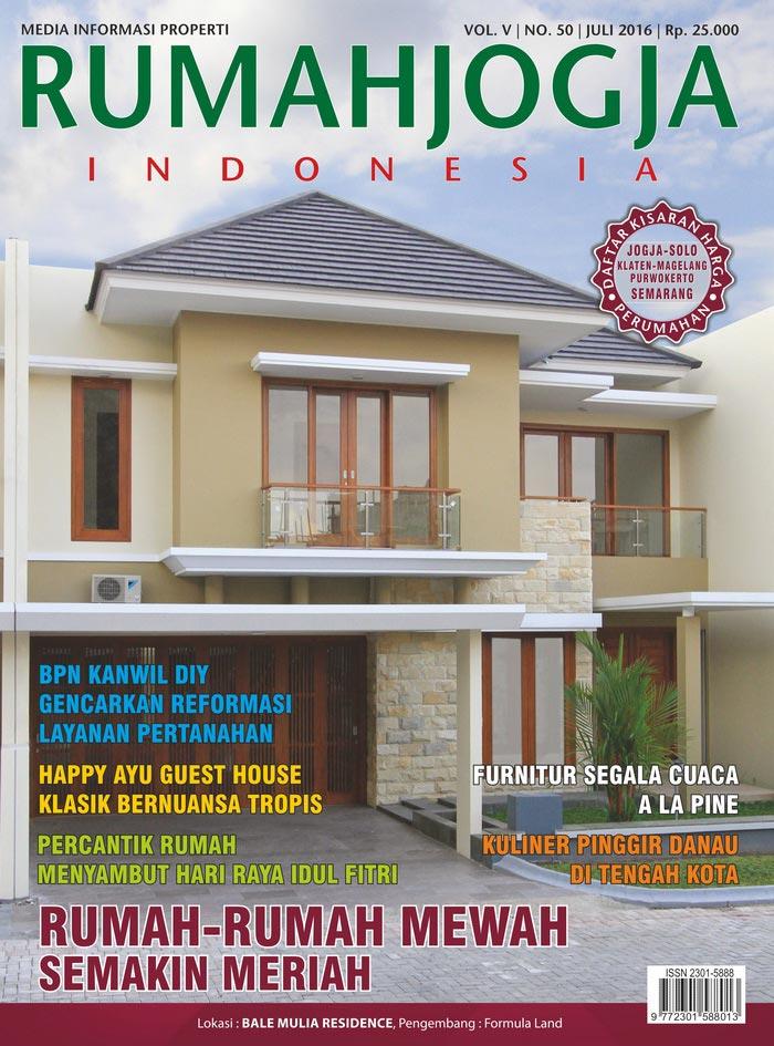Majalah RUMAHJOGJA INDONESIA edisi 50