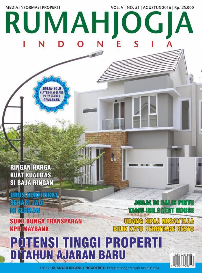 Majalah RUMAHJOGJA INDONESIA edisi 51