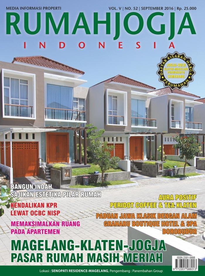 Majalah RUMAHJOGJA INDONESIA edisi 52